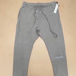 Essentials Fear of God Charcoal Grey Sweatpants L
